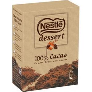 Nestlé chocolat en poudre dessert 100% cacao 250g