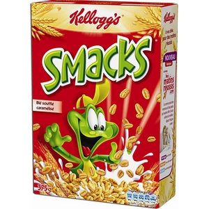 Céréales kellogg's smacks 400g