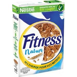 Céréales fitness nature au blé complet 375g