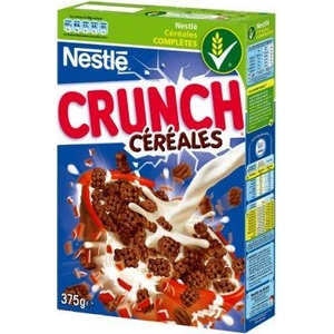 Céréales crunch 375g