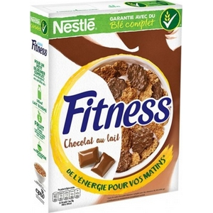 Fitness céréales chocolat au lait 375g