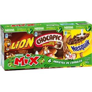 Nestlé céréales mix de 6x30g