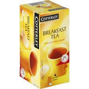 Cotterley thé breakfast x25