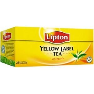 Thé lipton yellow 25 st.