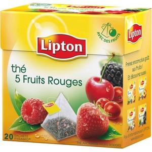 Thé lipton 5 fruits rouges 20 st.