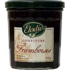 Élodie confitures framboise 370g