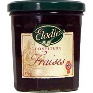 Élodie confitures fraises 370g