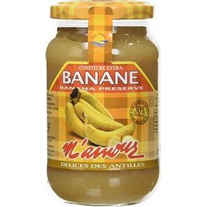 M'amour confiture de banane 325g