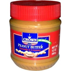 Beurre de cacahuètes crown 340g
