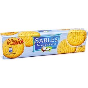 Netto sablés noix de coco 125g