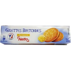 Netto galettes bretonnes pur beurre 125g