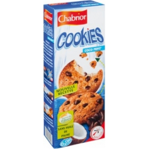 Chabrior cookies coco pepit' 6x2 200g