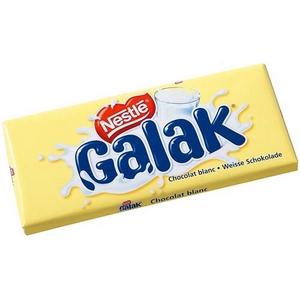Nestlé tablette de chocolat au lait galak 100g