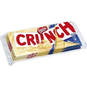 Nestlé tablette de chocolat blanc crunch 2x100g
