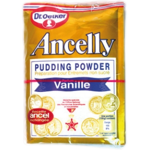 Ancelly pudding vanille x 4