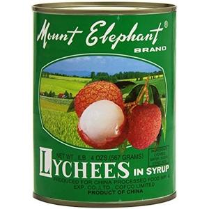 Lychees au sirop mount elephant 567g