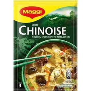 Soupe chinoise nouille, champignons noirs, épices 60g