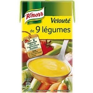 Knorr velouté de 9 légumes 0,5l