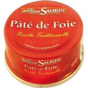 W. saurin pâté de foie 128g