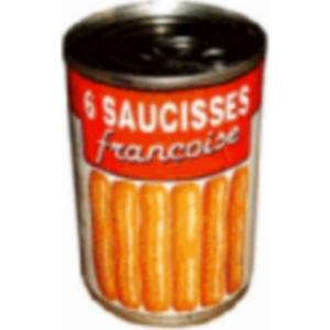 Saucisses Strasbourg Francoise 1/2