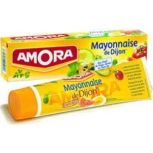 Sauce mayonnaise amora tube de 175g