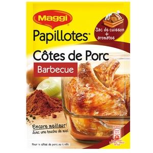 Maggi papillotes côtes de porc barbecue 28g