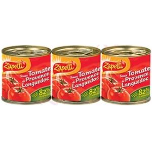 Zapetti sauce tomate 3x95g