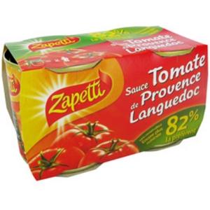 Zapetti sauce tomate 2x190g