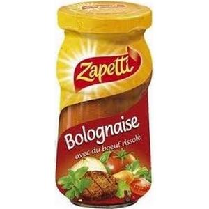 Zapetti sauce bolognaise 190g