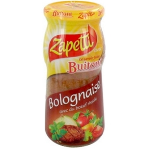 Zapetti sauce bolognaise 380g