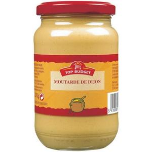 Top buget moutarde de dijon au vinaigre 370g