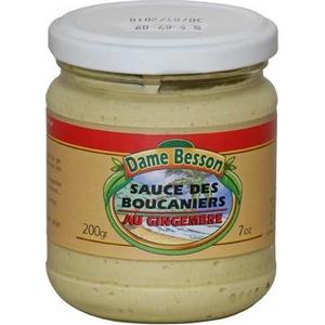 Dame besson sauce boucanier au gingembre 200g
