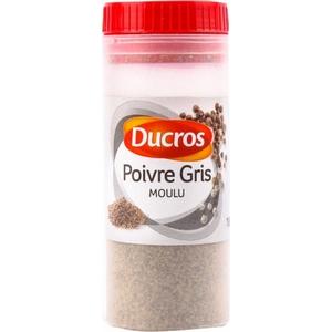 Ducros poivre gris 18g