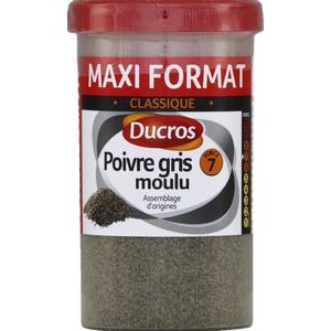 Ducros poivre gris moulu 90g