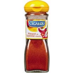 Cigalou piment de cayenne moulu 36g