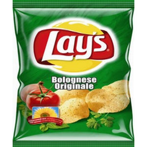 Lays chips arome bolognaise 20g