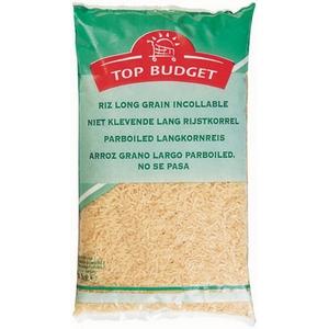 Top budget riz long grain incollable 1kg