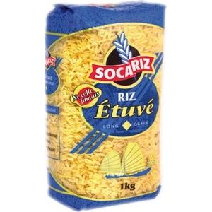 Riz socariz bleu étuvé 1kg