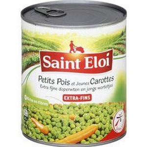Saint éloi petits pois carottes extra-fins 4/4