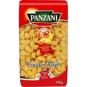 Panzani pâtes coude raye 500g