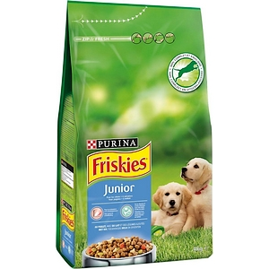Friskies croquettes chien junior 4kg