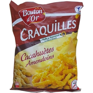 Bouton d'or craquilles cacahuètes 90g