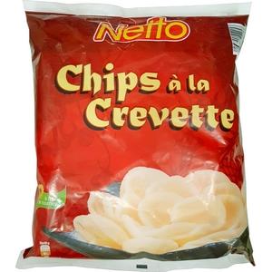 Netto chips à la crevette 75g