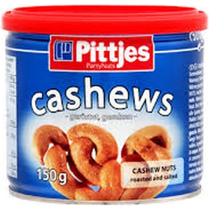 Noix cajou boite fer cashews 150g