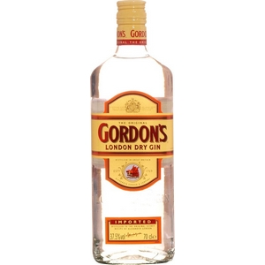 Gin gordon's london dry gin 37,5% vol 70cl
