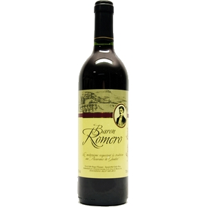 Vin rouge baron roméro 75cl