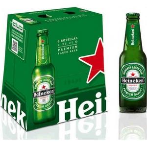 Bière heineken blle 6x25cl