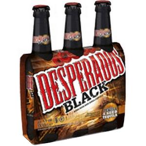 Bière despérados black blle 3x33cl