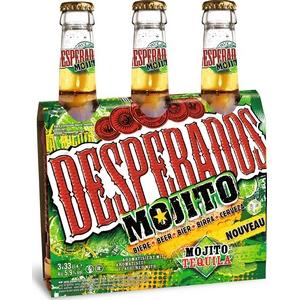 Bière despérados mojito tequilla 3x33cl 5.9%