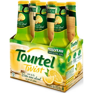 Bière sans alocool tourtel twist citron 6x27,5cl